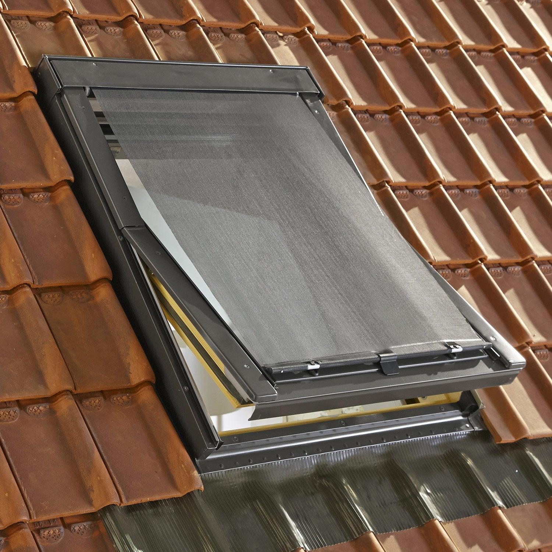 elegant gallery of store fentre de toit pare soleil extrieur noir artens with store canisse. Black Bedroom Furniture Sets. Home Design Ideas