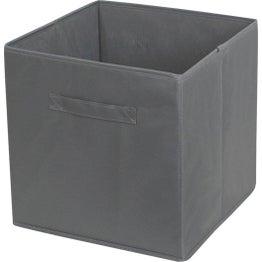 Panier de rangement MULTIKAZ gris H.31 x l.31 x P.31 cm