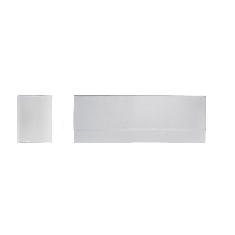Tablier De Baignoire L 160x L 70 Cm Blanc Nere Access Leroy Merlin