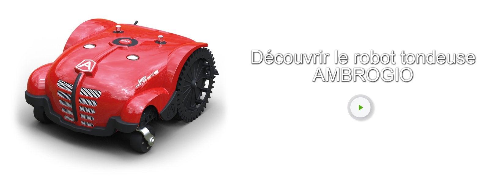 tondeuse robot connect e ambrogio l250 3500 m leroy merlin. Black Bedroom Furniture Sets. Home Design Ideas