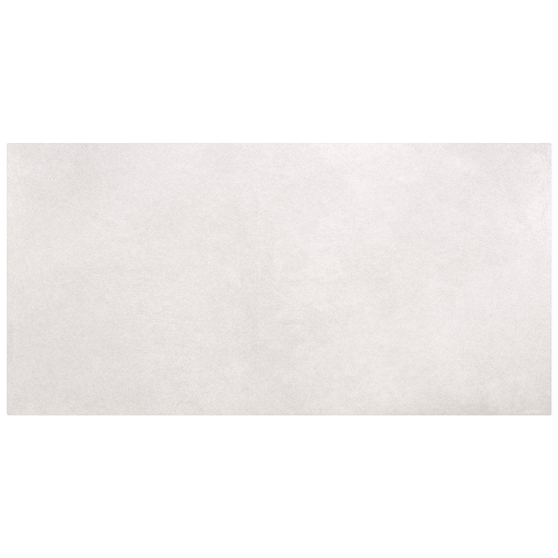 Carrelage sol et mur gris clair effet béton Shade l.30.8 x L.61.5 cm ...