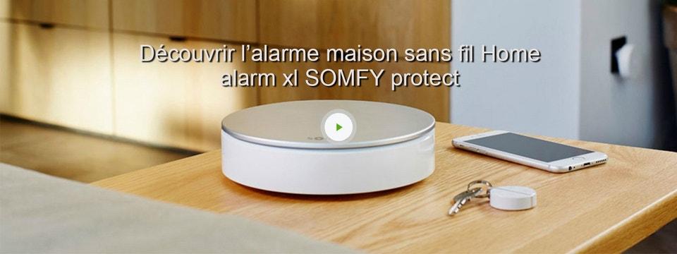 somfy alarme maison xl