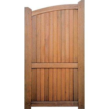 Portillon bois alu fer portail portillon et for Portillon en bois