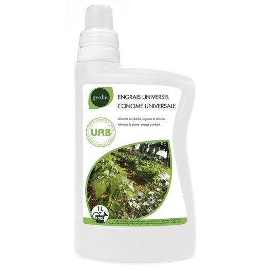 Engrais naturel universel GEOLIA 1l 100 m²