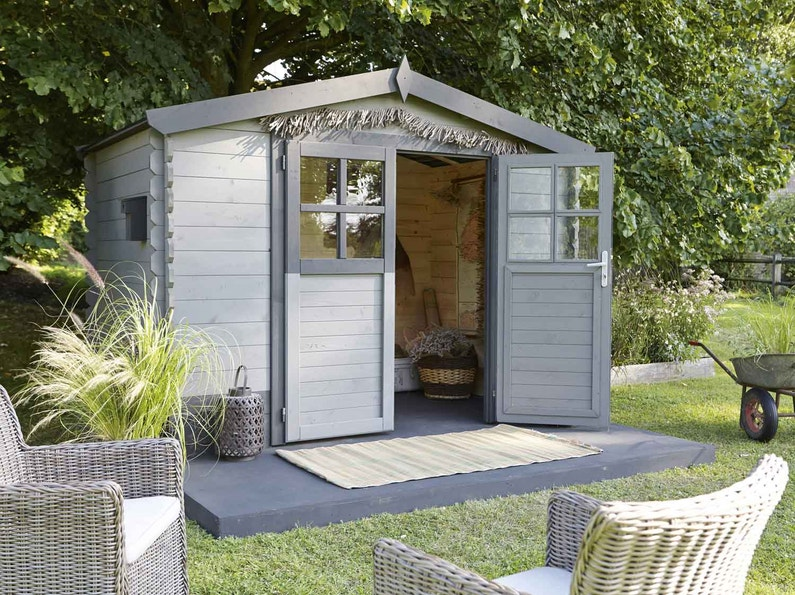 abri de jardin cabane chalet kiosque garage leroy merlin. Black Bedroom Furniture Sets. Home Design Ideas