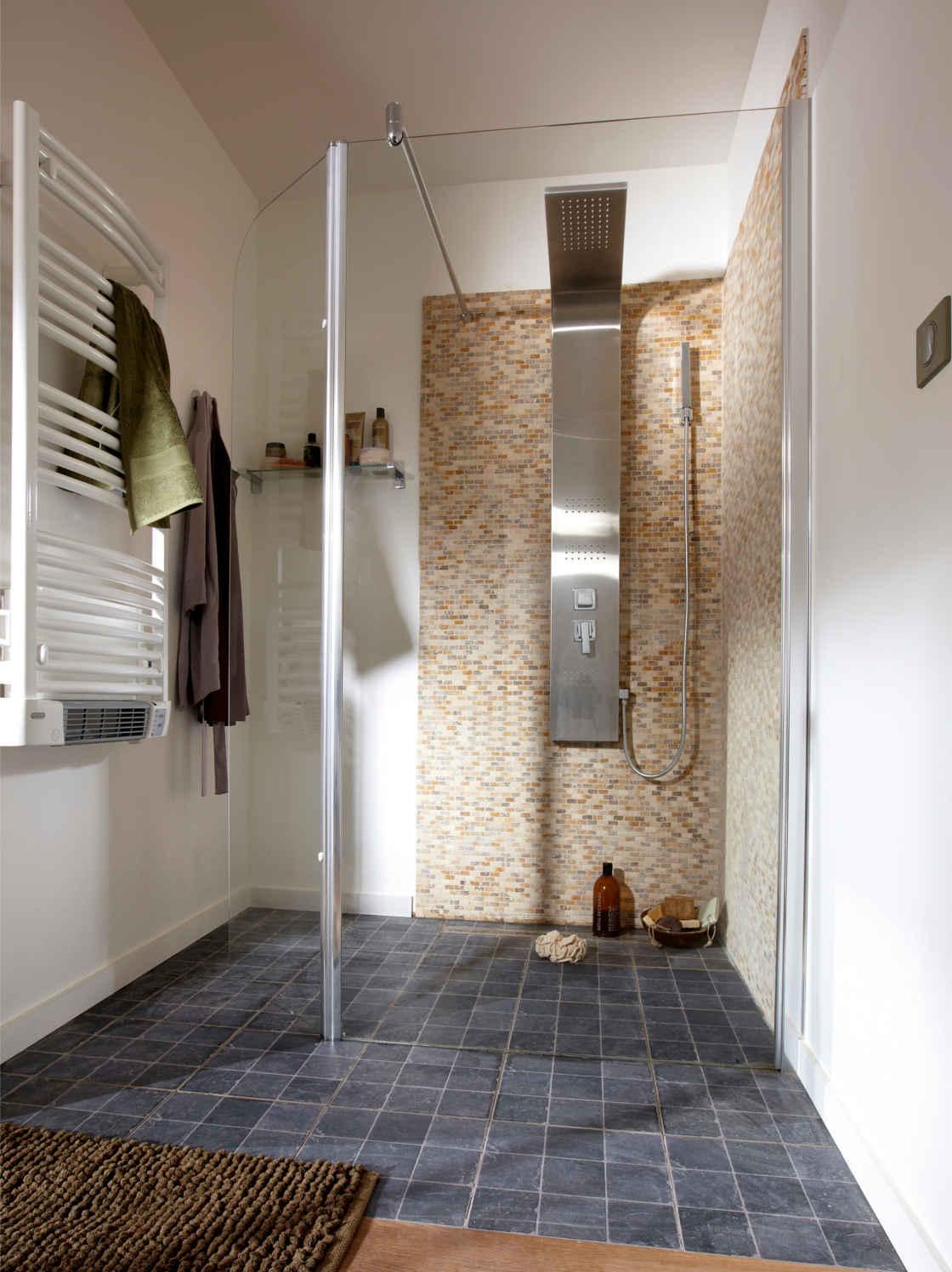 Carrelage pour douche italienne leroy merlin   acheter avec faire ...