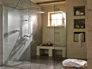 La douche à l'italienne