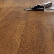Lame PVC clipsable naturel effet bois foncé Aero trendy