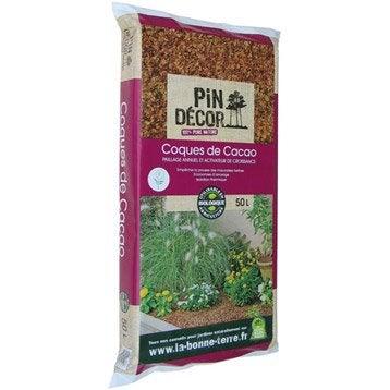 Coque de cacao PIN DECOR, 50 l