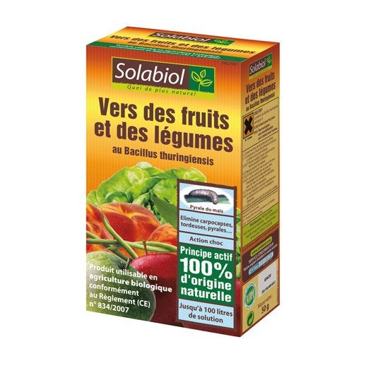 Traitement des insectes vers fruits et l gumes solabiol for Traitement contre les vers