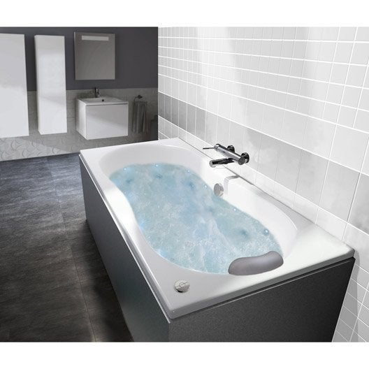 baignoire baln o avec tablier rectangulaire cm. Black Bedroom Furniture Sets. Home Design Ideas