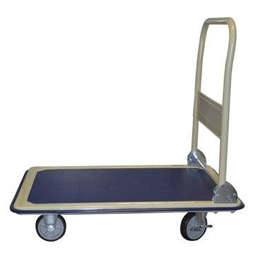 Chariot rigide acier, charge garantie  300 kg