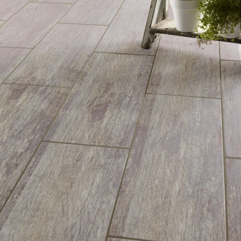carrelage sol et mur gris effet bois cuba l20 x l604 cm With idees de terrasse exterieur 5 carrelage sol et mur bleu effet bois cuba l 20 x l 60 4 cm
