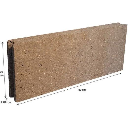 parpaing brique parpaing creux bloc 224 bancher bloc b 233 ton leroy merlin