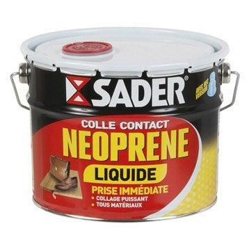 Colle néoprène liquide Multi - usages SADER, 2,5l