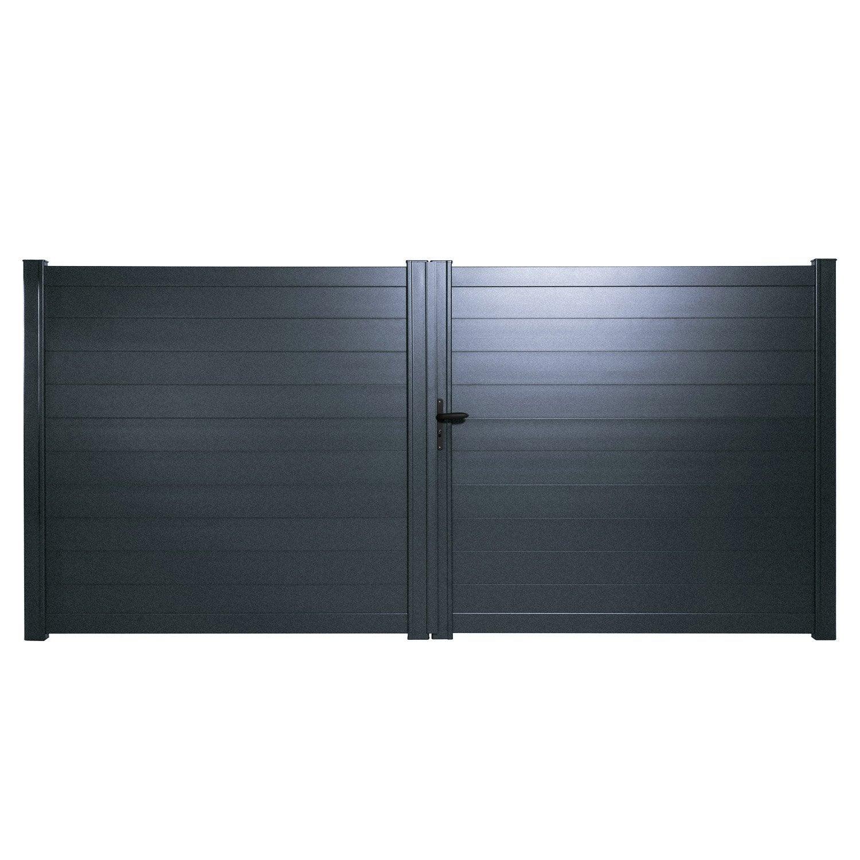 Vente portail tritoo maison et jardin for Portail aluminium battant 350