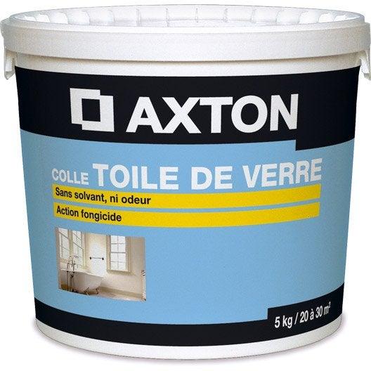 colle toile de verre prête à l'emploi axton, 5 kg | leroy merlin