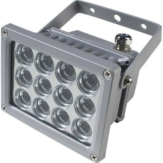 projecteur 224 fixer ext 233 rieur athens led int 233 gr 233 e aluminium inspire leroy merlin