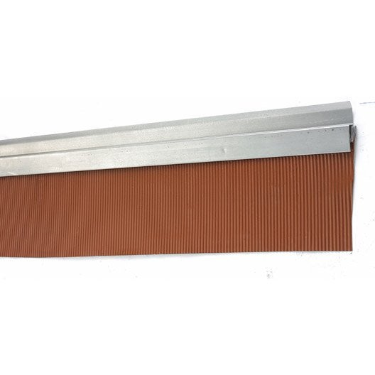 Solin mastic bavette scover plus sable et rouge - Produit nettoyage toiture leroy merlin ...