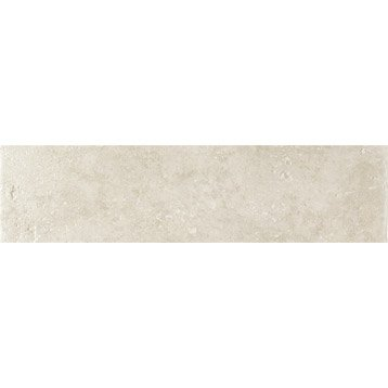 Lot de 3 plinthes Toscane blanc, l.8 x L.32.5 cm