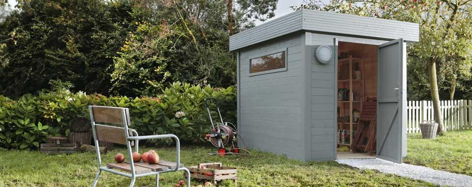 Bien choisir son abri de jardin leroy merlin for Abri de jardin declaration