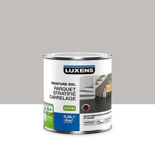 Peinture sol int rieur haute r sistance luxens gris dor n 6 0 5 l leroy merlin for Peinture douche acrylique