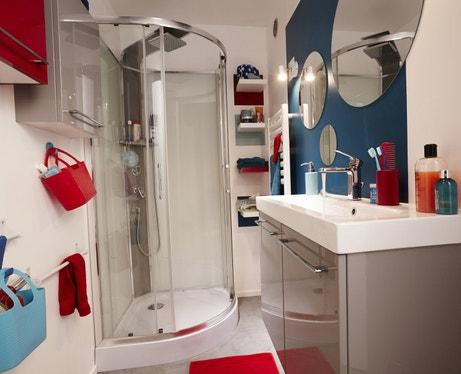Une colonne de douche moderne et fonctionnelle