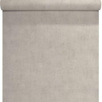 Papier peint Uni béton, blanc
