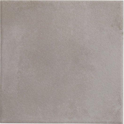 carrelage sol et mur gris effet ciment bistro x. Black Bedroom Furniture Sets. Home Design Ideas