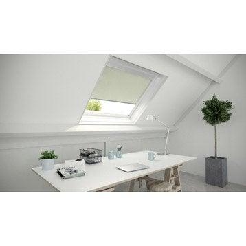 Store fenêtre de toit occultant blanc ivoire n°5 blanc ivoire n°5 ARTENS