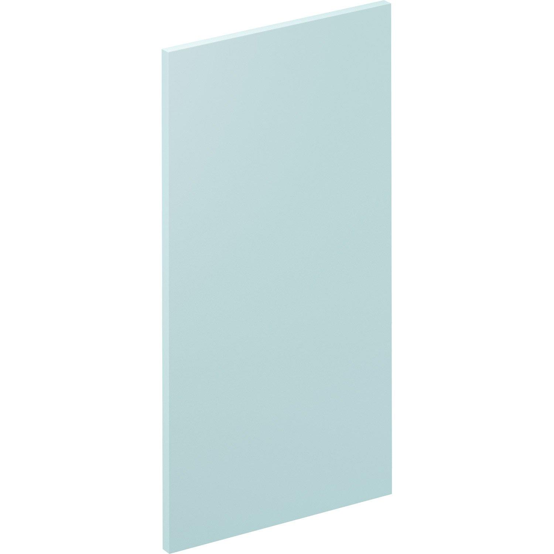 Porte de cuisine Sevilla bleu fjord, DELINIA ID H.76.8 x l.39.7 cm