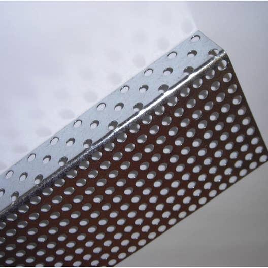 grille antirongeur pour bardage acier galvanis 20 x 100 scover plus gris l 2 m leroy merlin. Black Bedroom Furniture Sets. Home Design Ideas