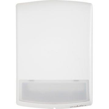 Sirène extérieure flash blanc pour alarme maison EDEN