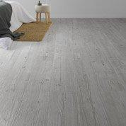 Lame PVC adhésive gris Soft
