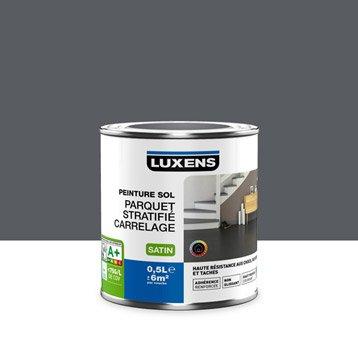 Peinture sol intérieur Haute résistance LUXENS, gris galet n°1, 0.5 l