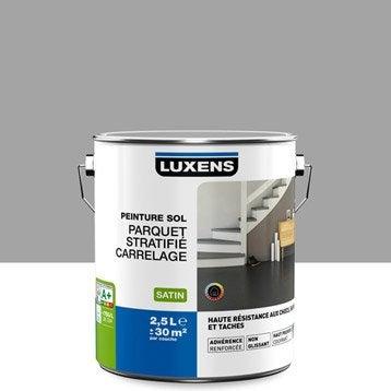 Peinture sol intérieur Haute résistance LUXENS, gris galet n°3, 2.5 l