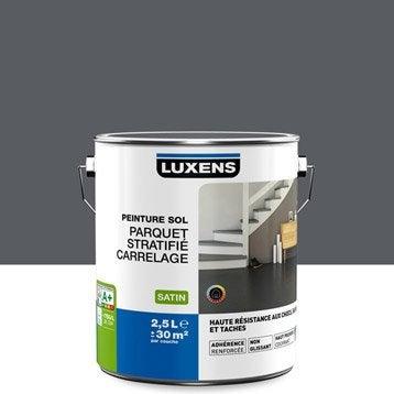Peinture sol intérieur Haute résistance LUXENS, gris galet n°1, 2.5 l