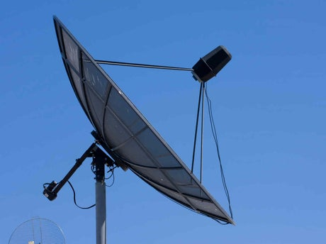 Bien recevoir internet et la t l vision leroy merlin for Installer une antenne tv