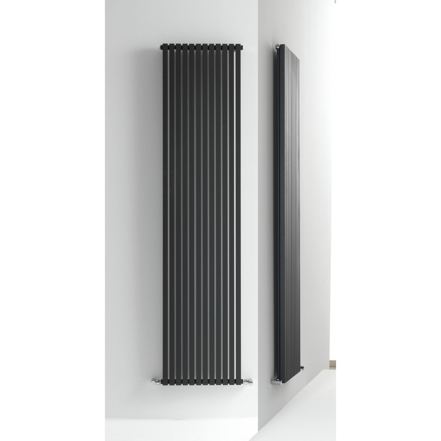 radiateur chauffage central quad anthracite cm 993 w leroy merlin. Black Bedroom Furniture Sets. Home Design Ideas