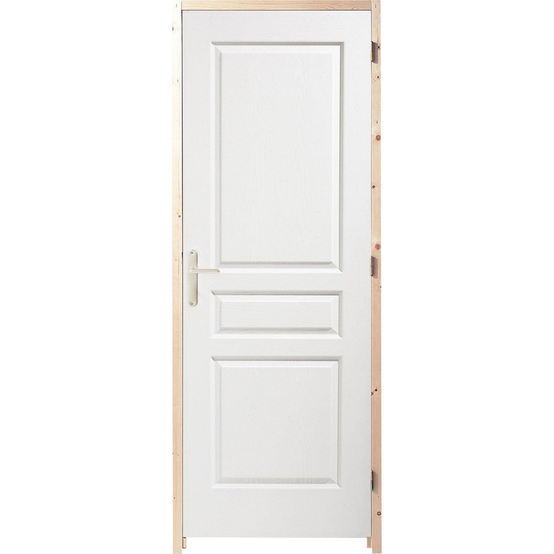 Porte intérieure à recouvrement