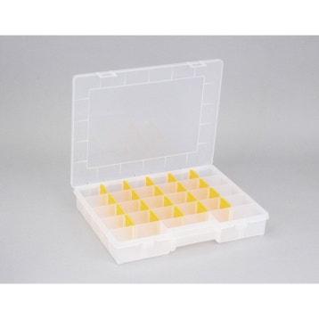 Rangement Bracelet Boite-a-vis-plastique-allit-l-37-x-h-6-x-p-29-5-cm