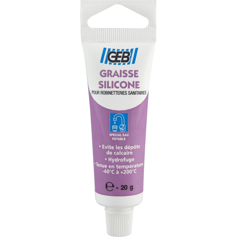 Graisse Silicone Anticalcaire 20 G Geb