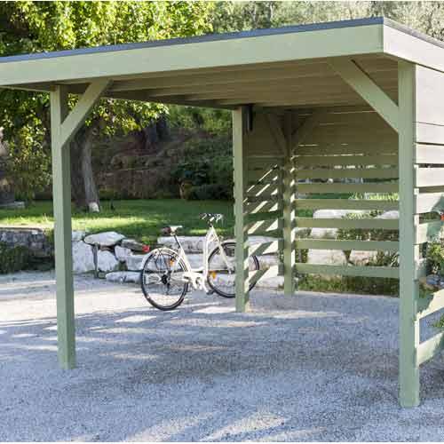 Abri De Jardin Cabane Chalet Kiosque Garage Leroy Merlin