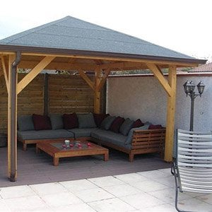 abri de jardin cabane chalet kiosque garage leroy merlin. Black Bedroom Furniture Sets. Home Design Ideas