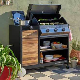 Barbecue plancha brasero cuisine d 39 ext rieur leroy for Barbecue d interieur