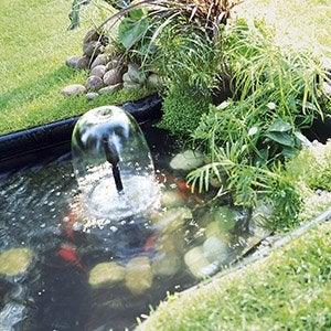 Bassin Et Bâche Pour Bassin De Jardin