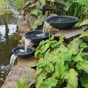 Fontaine bassin leroy merlin for Kit bassin poisson exterieur
