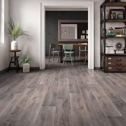carrelage sol et mur gris bleu effet bois specia x cm leroy merlin. Black Bedroom Furniture Sets. Home Design Ideas