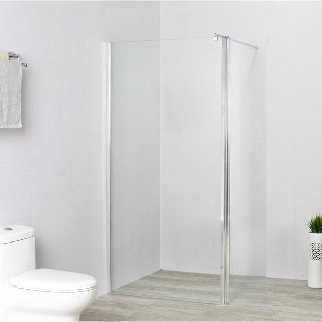 Une douche l 39 italienne dans moins de 3 5m leroy merlin - Paroi de douche 100 ...