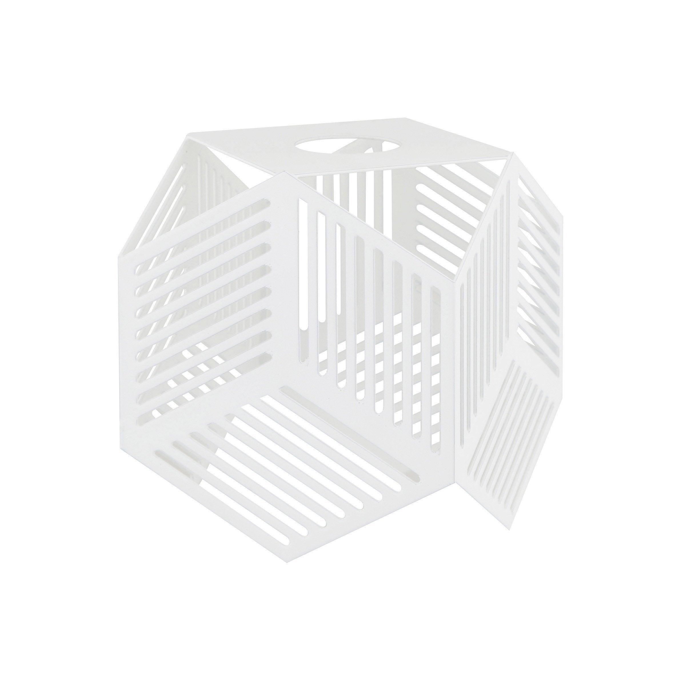 Verrerie pour spot à composer design Jack blanc INSPIRE